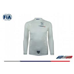 T-shirt FIA  Peugeot sport manches longues