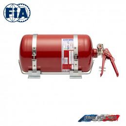 Kit extincteur FIA SPARCO automatique mécanique acier 4,25L
