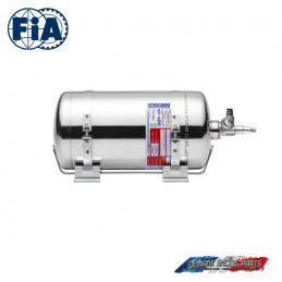 Extincteur FIA SPARCO kit automatique 4,25 L électrique inox