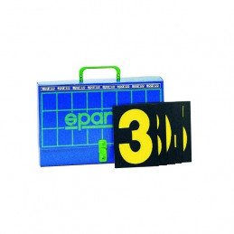 Numéros pour tableau de panneautage SPARCO