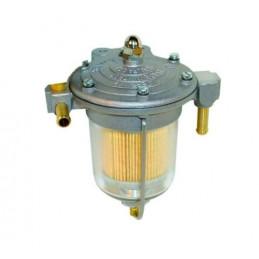 Filtre régulateur de pression d'essence KING FILTER Bocal 85 mm verre